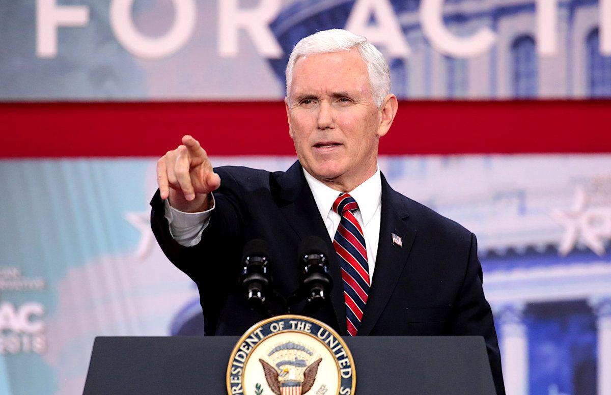 Mike Pence bei der Präsidentschaftswahl 2020